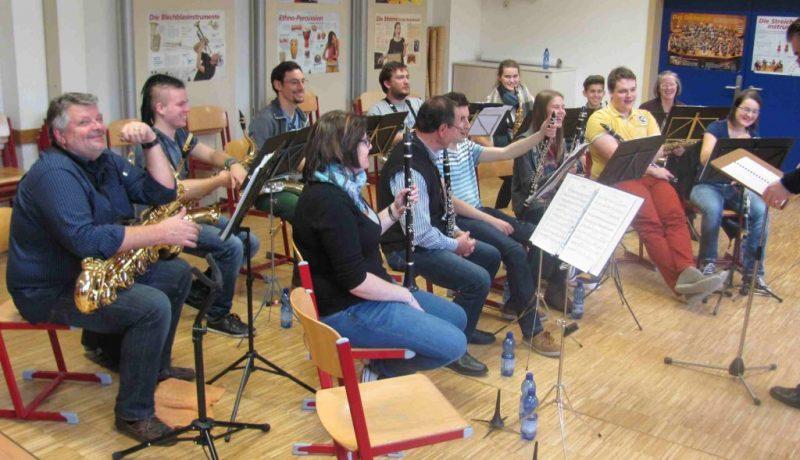 Musikverein Liebenau Probentag 2016