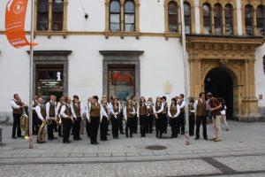 Musikverein Liebenau Landhaushofkonzert 2012