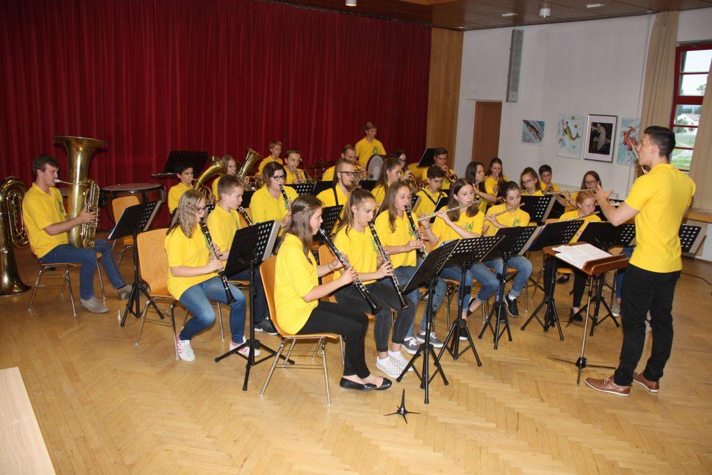 Die jungen Musiker begeisterten das Publikum.