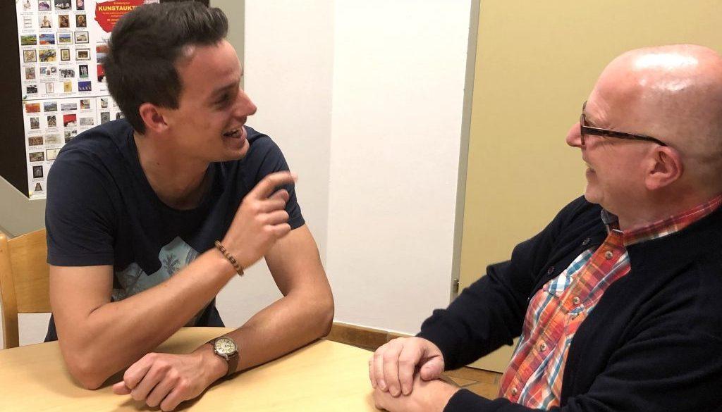 Abschiedsinterview: Johannes Thaler und Andreas Domweber